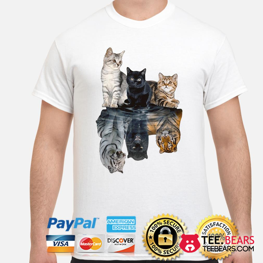Cats Mirror Tigers shirt