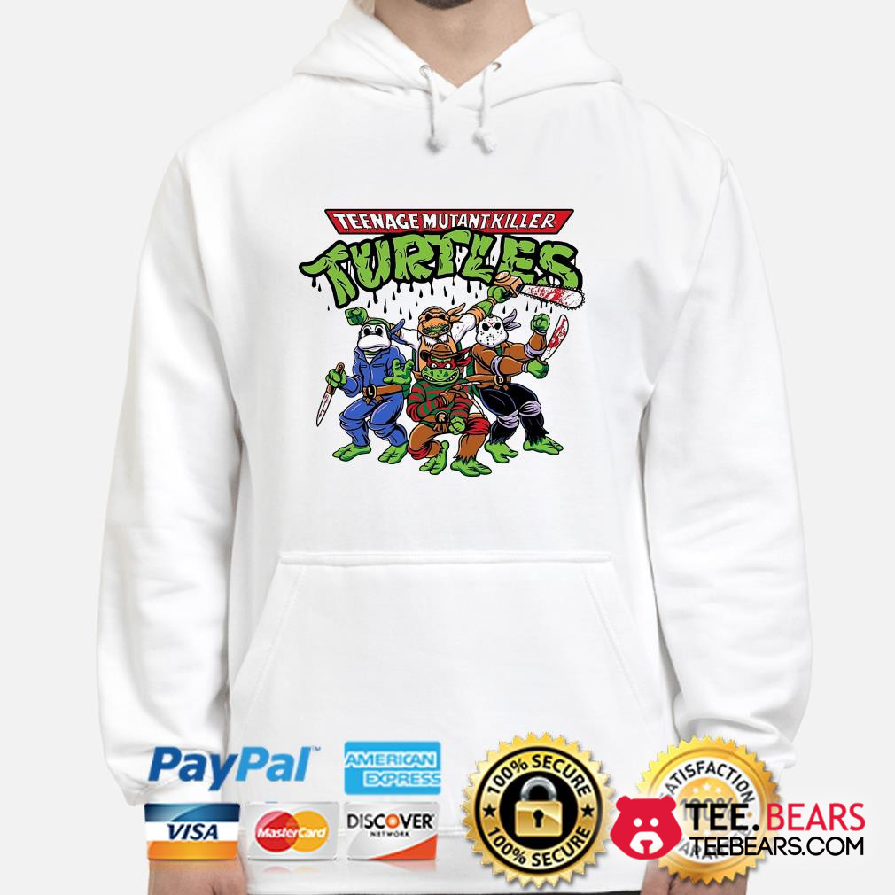 Teenage Mutant Killer Ninja Turtles Horror character hoodie