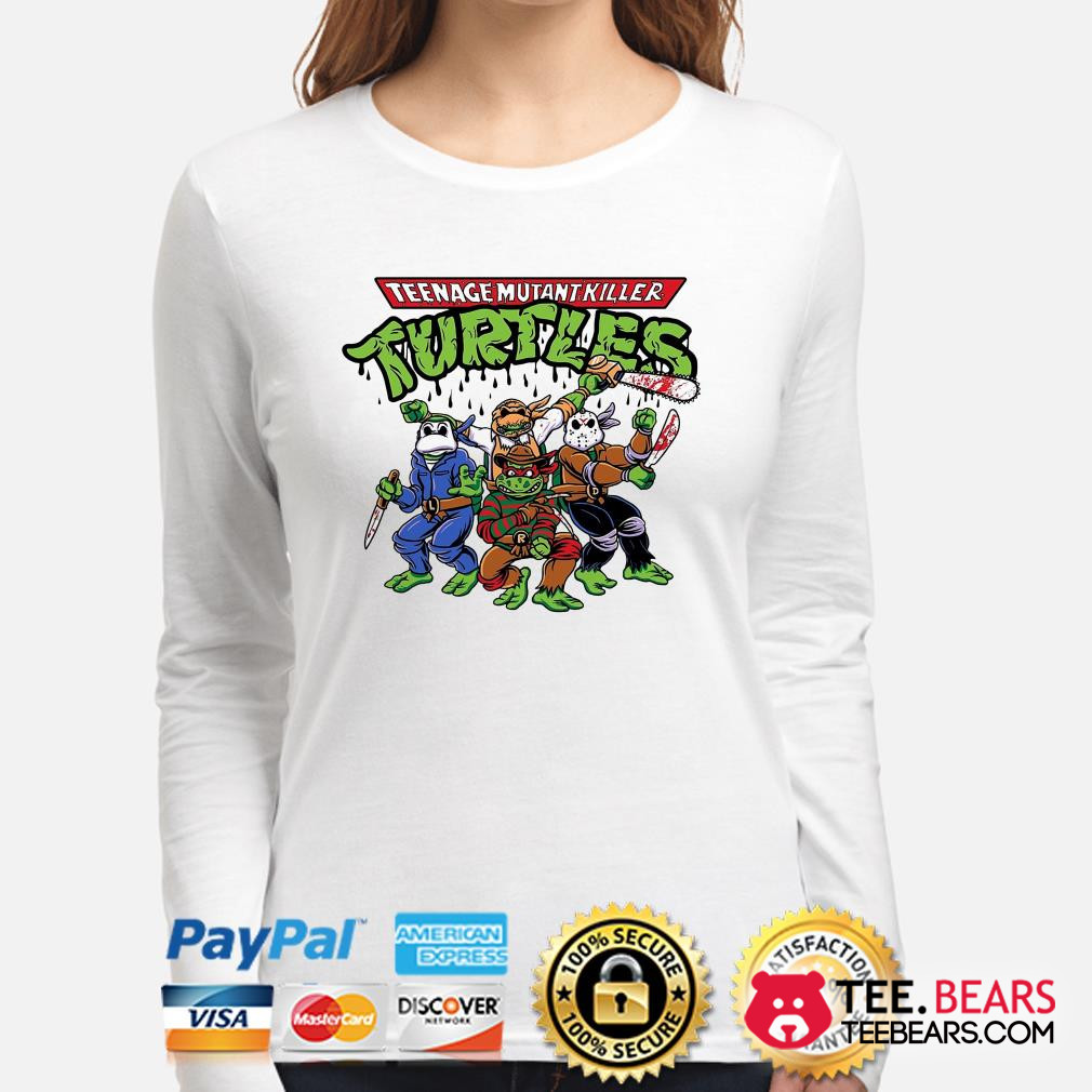 Teenage Mutant Killer Ninja Turtles Horror character Long sleeve