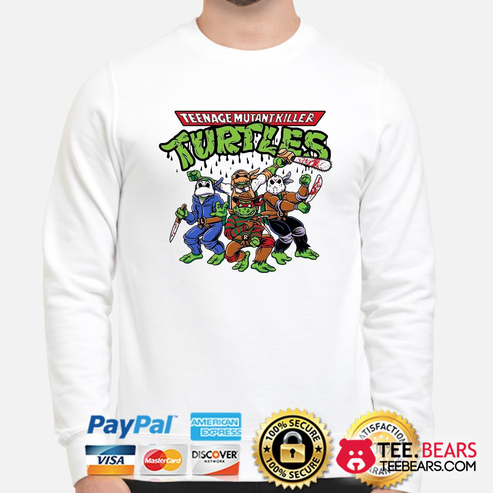 Teenage Mutant Killer Ninja Turtles Horror character sweater
